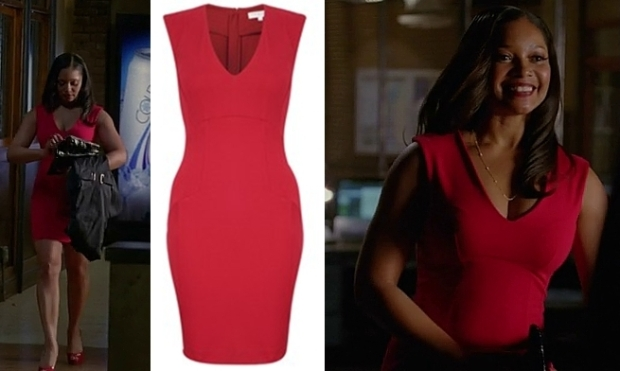 Lanie red dress